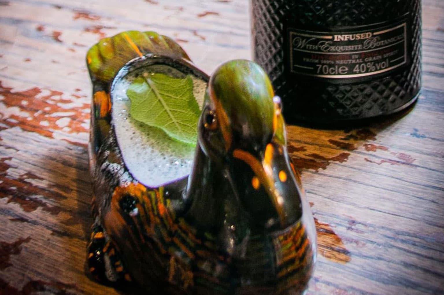 Brockmans Gin Brocktail third place cocktail