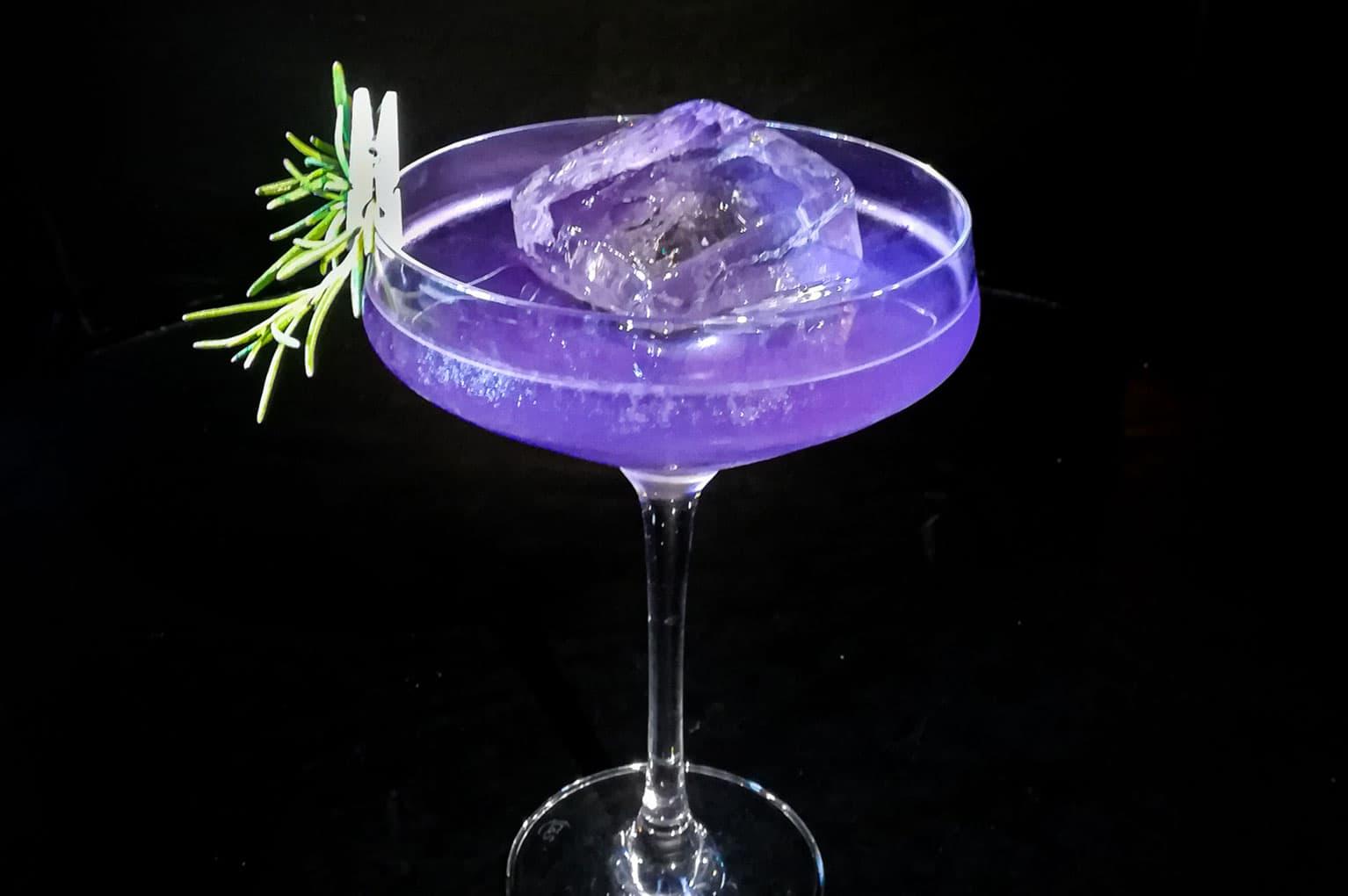 Brockmans Gin Brocktail second place cocktail