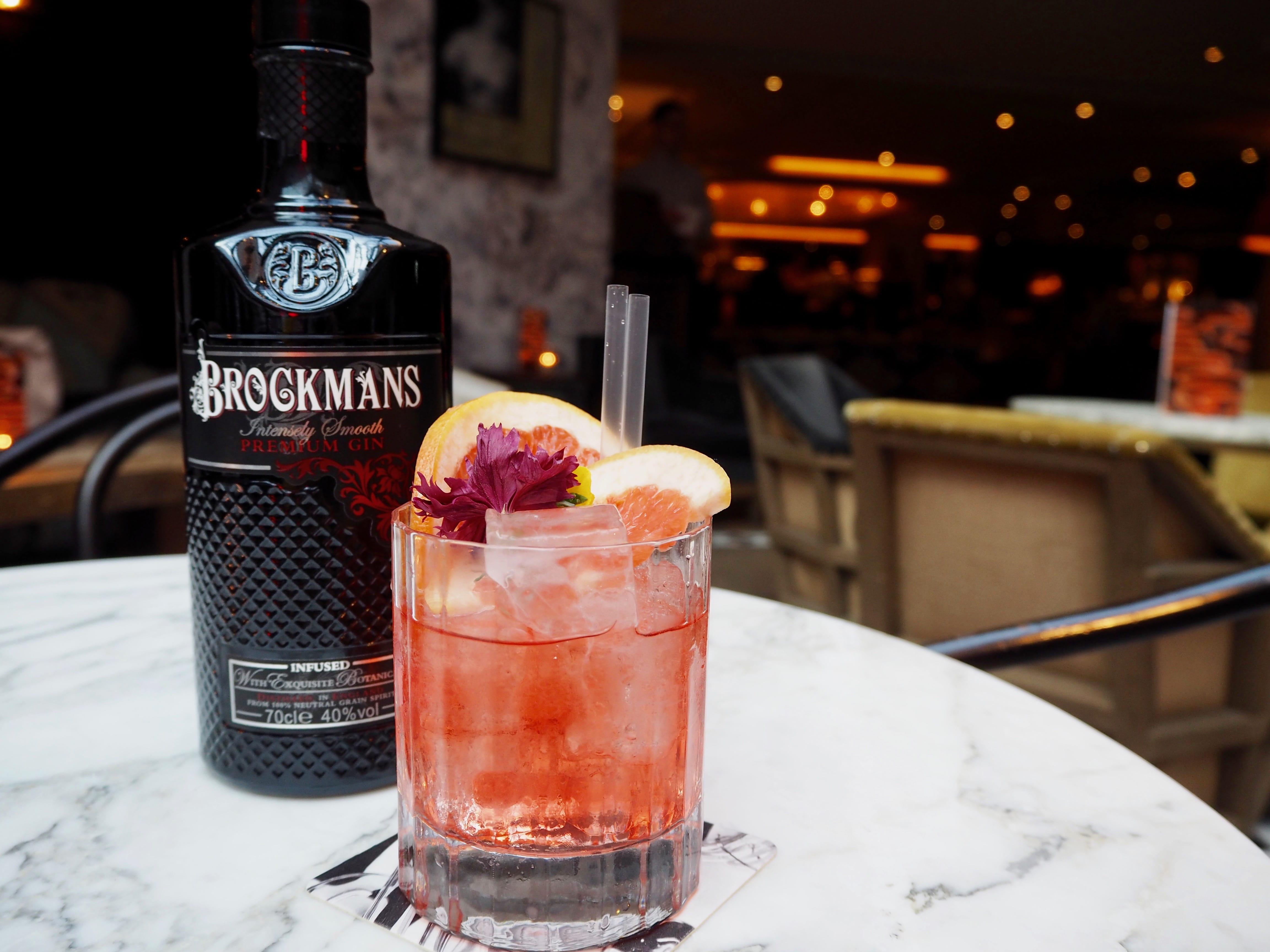 100 Wardour Brockmans Gin Negroni