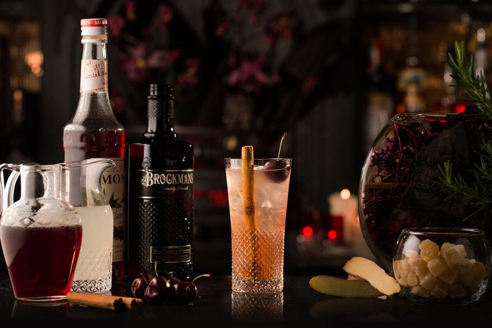 Brockmans Winter Cocktails Fiery Side