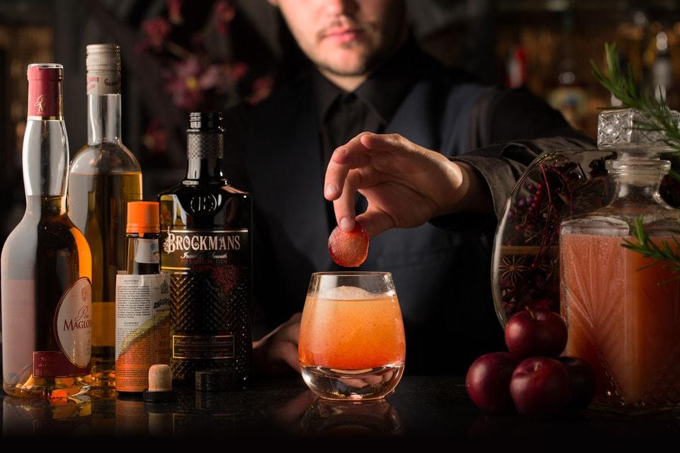 Brockmans Winter Cocktails Plum Delicious
