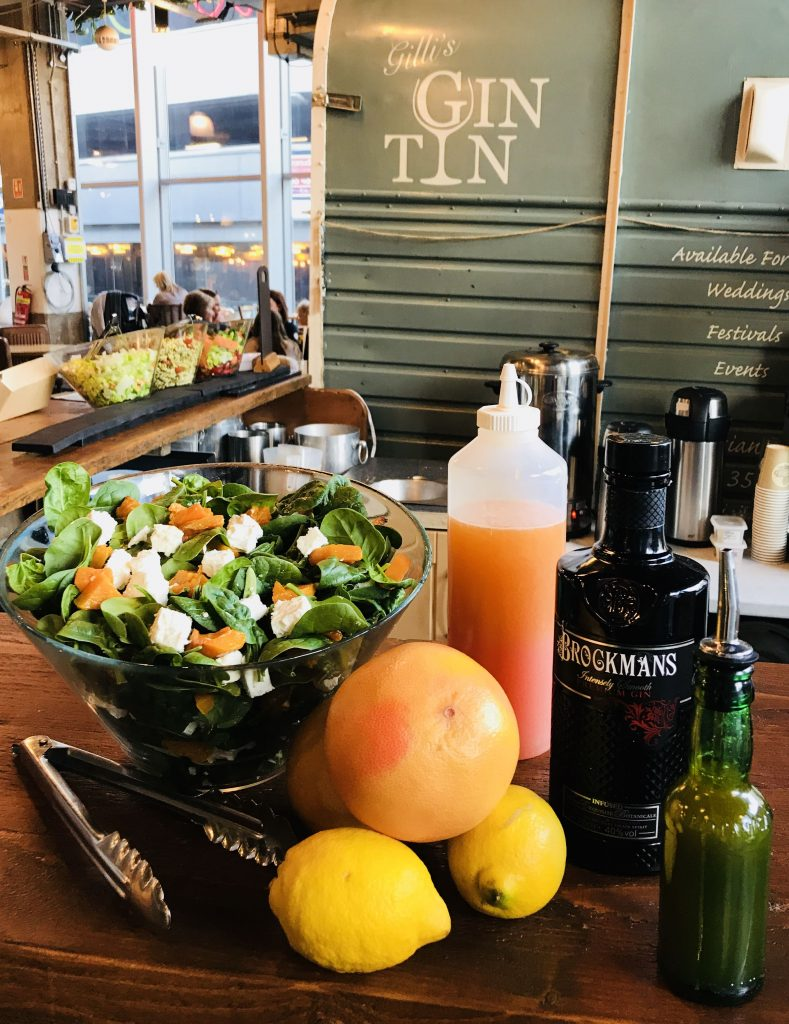 Gilli's Gin Tin Brockmans Gin Salad