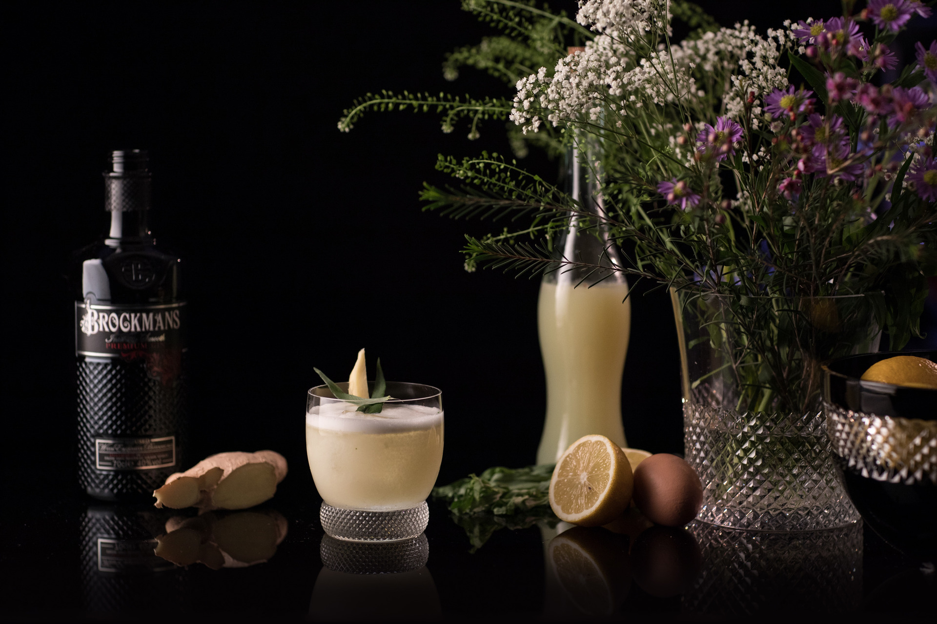 Herbal Sour Brockmans Gin