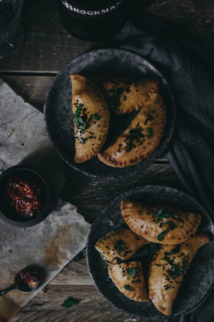 Chicken Tikka & Gin Empanada