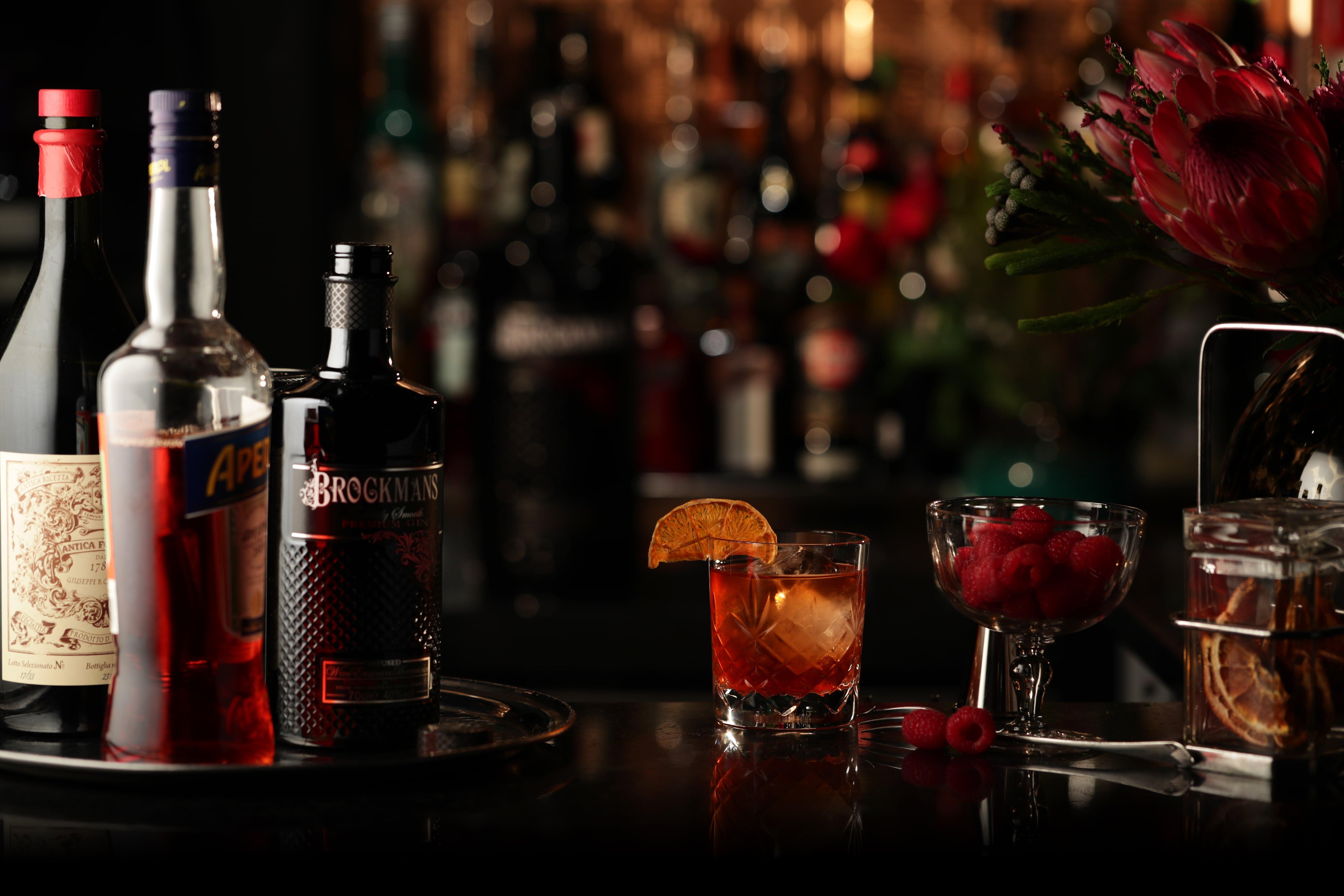 Brockmans Gin Summer Negroni