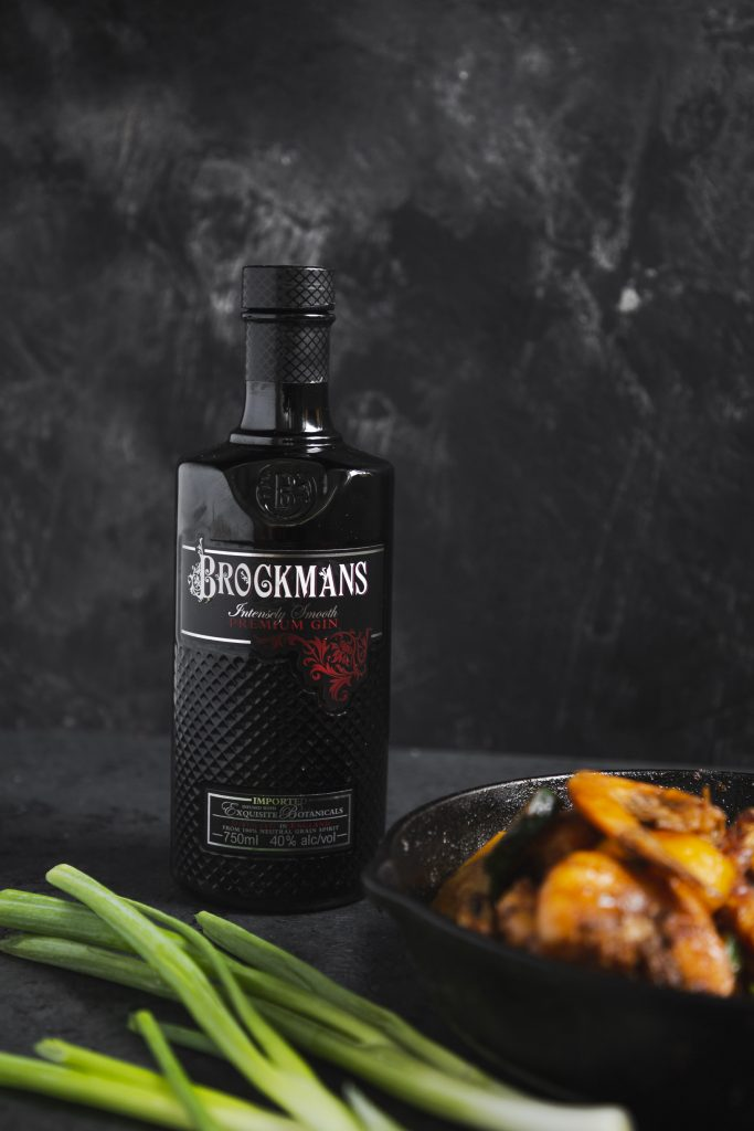 Brockmans Gin Marinated Shrimp