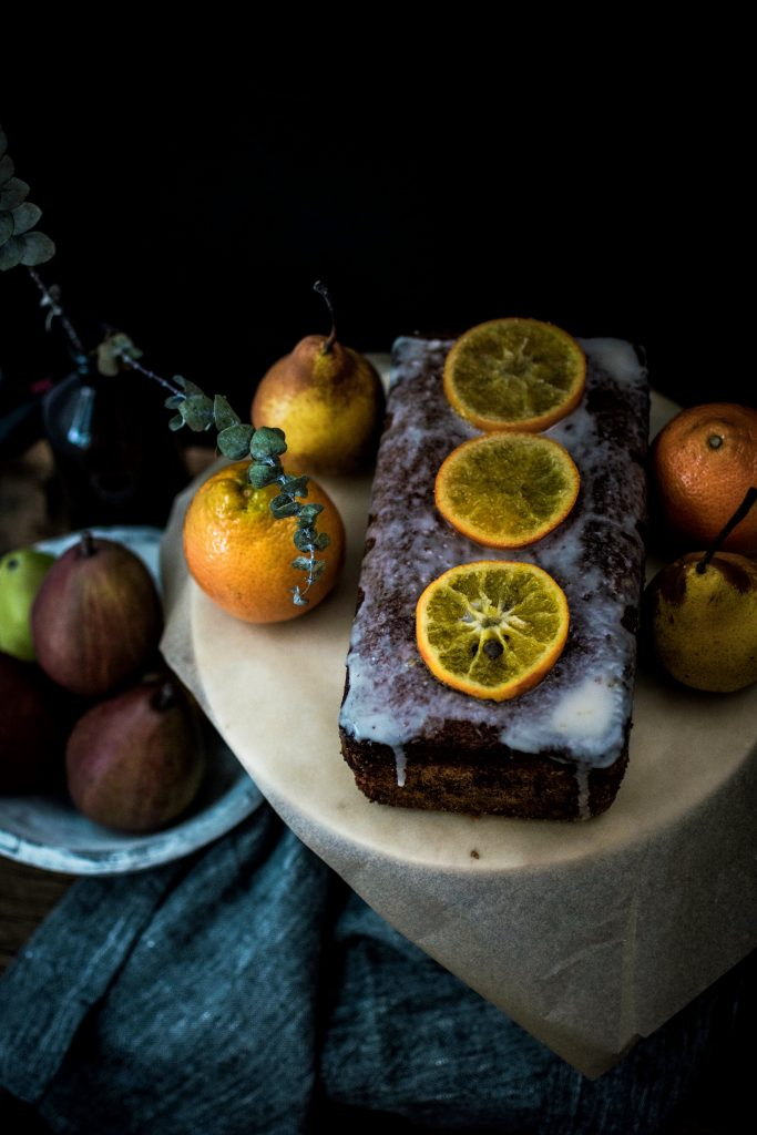 Orange and Brockmans Gin Fizz Loaf Cake6