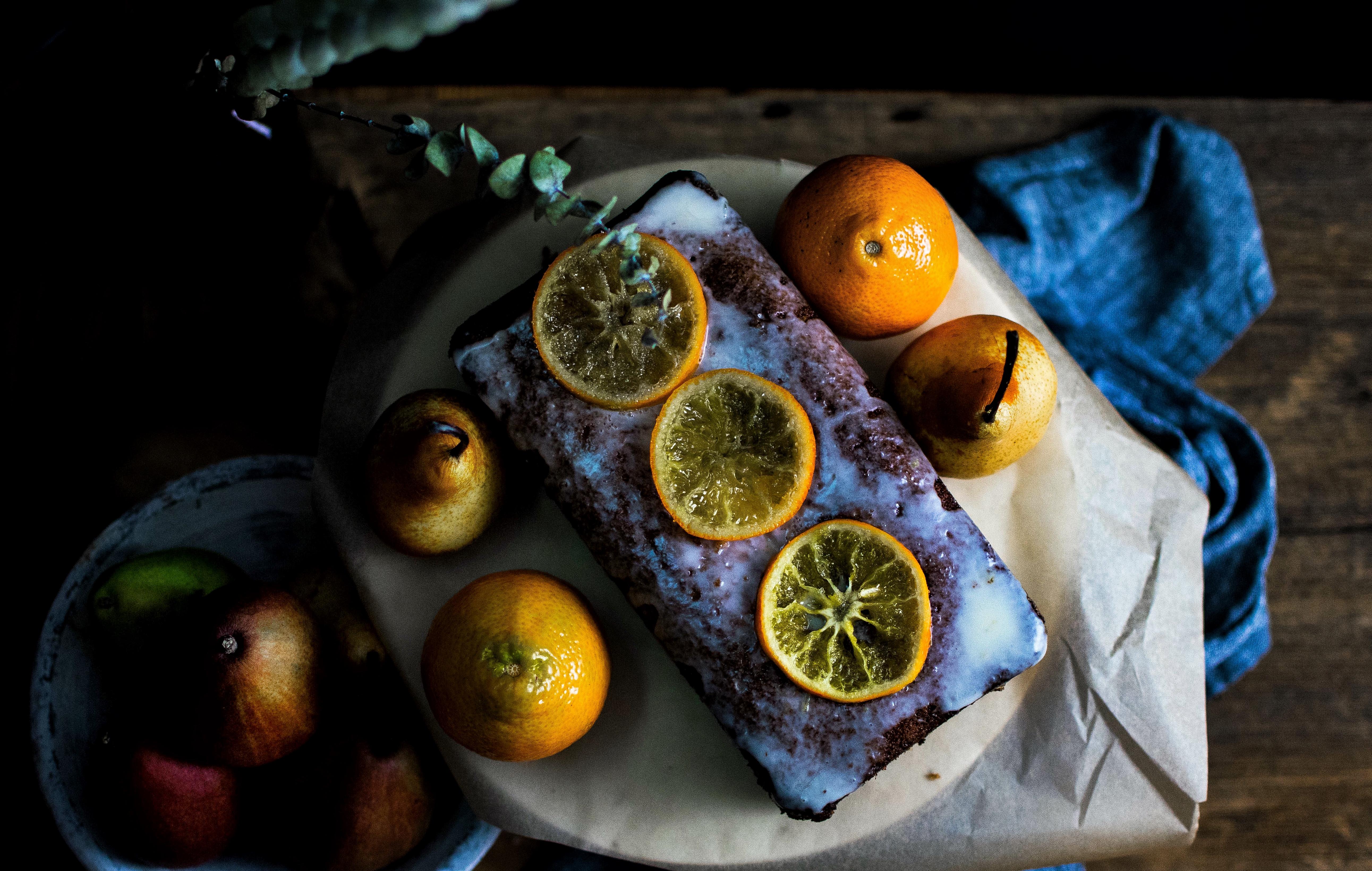 Orange and Brockmans Gin Fizz Loaf Cake6